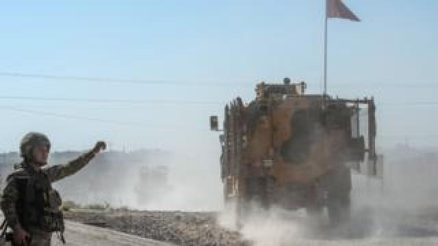 Turkish-backed Syrian rebels