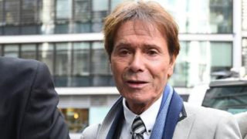 Sir Cliff Richard arriving at High Court on 16 April 2018