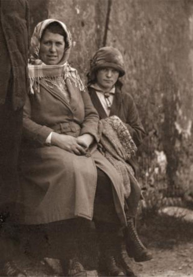 Housekeeper widow Anne Gillies and her daughter Mary Anne