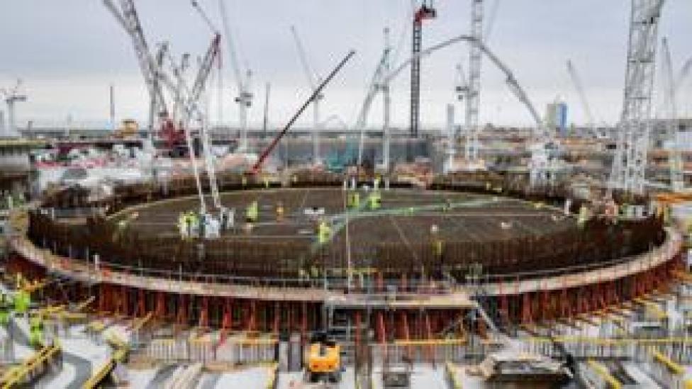 الصين مستثمر رئيسي في بناء محطة الطاقة النووية هينكلي بوينت في سومرست ببريطانيا