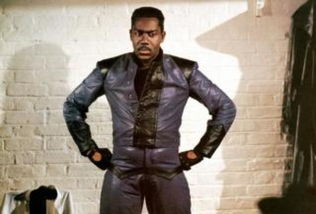 Lenny Henry in live stand-up comedy film Lenny Henry Live and Unleashed in 1989