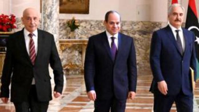 Sisi, Haftar and Aqila