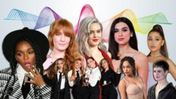 Janelle Monae, Florence + The Machine, Anne-Marie, Dua Lipa, Ariana Grande, Christine + The Queens, Jorja Smith and Little Mix