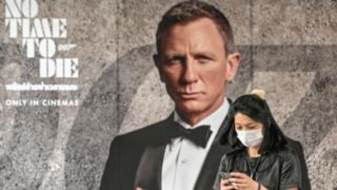 The new movie, James Bond