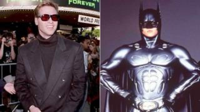 Val Kilmer in and out of costume