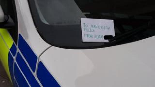 Police note