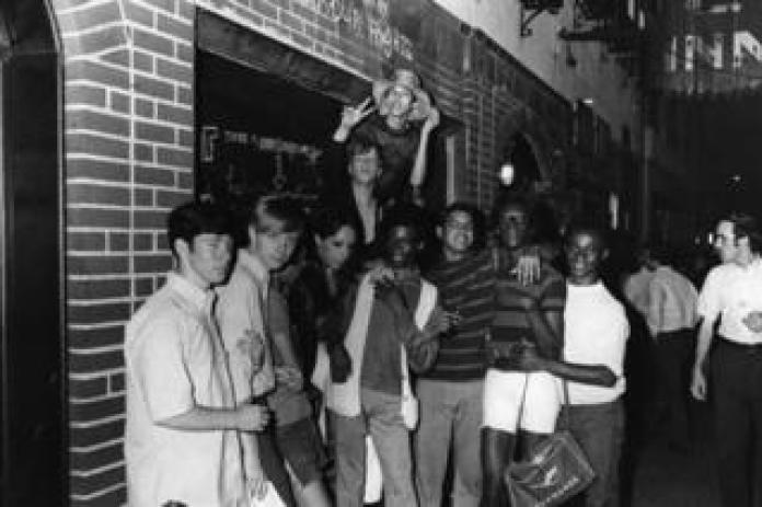 Celebrations outside Stonewall