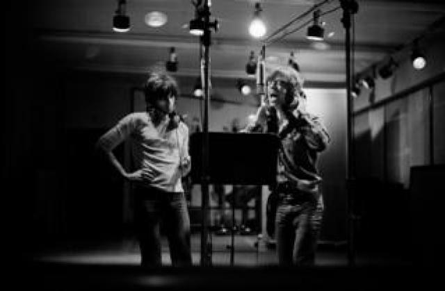 Keith Richards and Mick Jagger, Exile on Main Street, Sunset Sound, Los Angeles, 1972