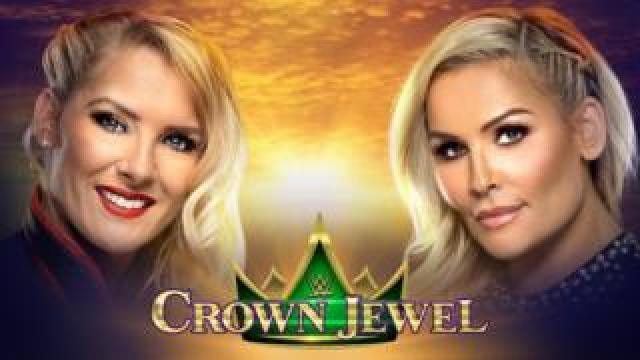 WWE promotional image showing Lacey Evans and Natalya
