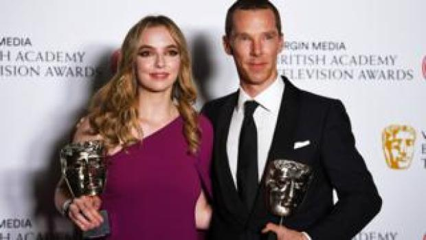 Jodie Comer and Benedict Cumberbatch