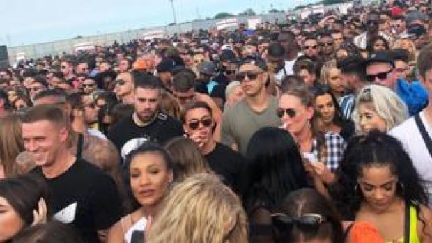 Festival queue