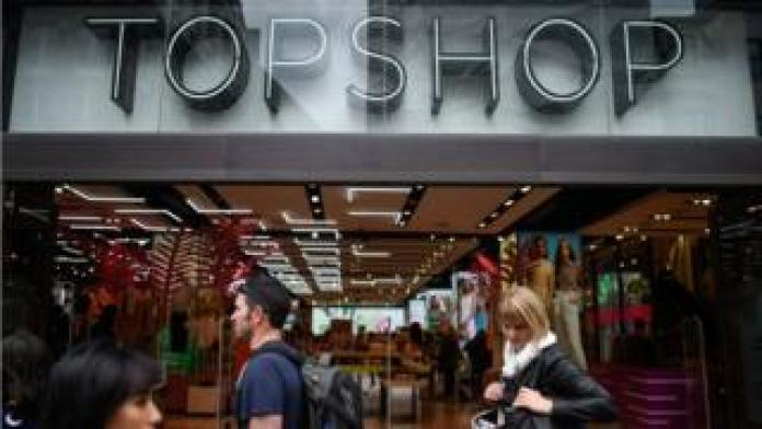 Topshop on Oxford Street