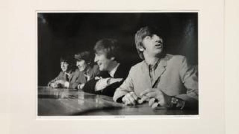 Photograph of The Beatles
