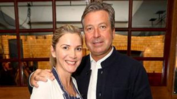 Lisa Faulkner and John Torode