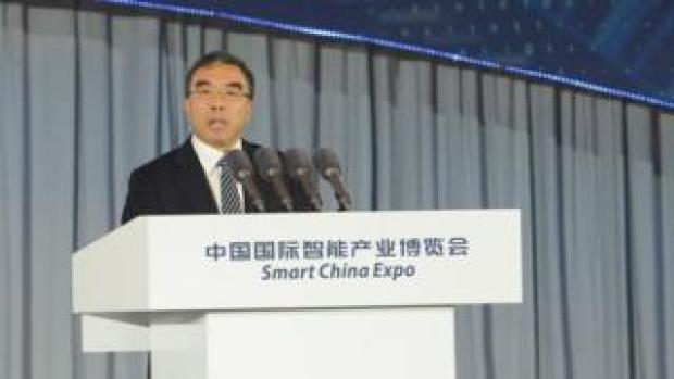 Huawei chairman Howard Liang Hua