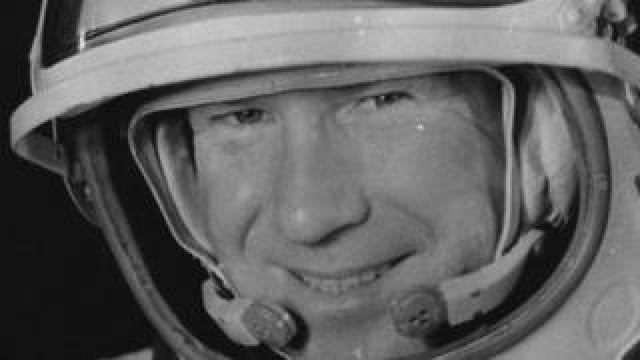 Alexei Leonov, the first person to walk in space