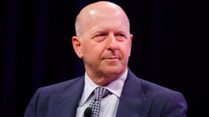 Goldman Sachs chief executive David Solomon in 2017