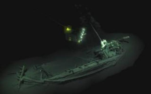 Black Sea wreck dating back to 400BC