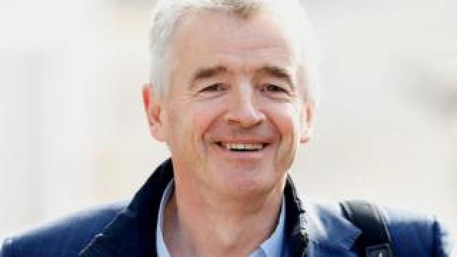 Ryanair's group chief executive Michael O'Leary