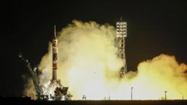 Soyuz rocket launch 14 March 2019