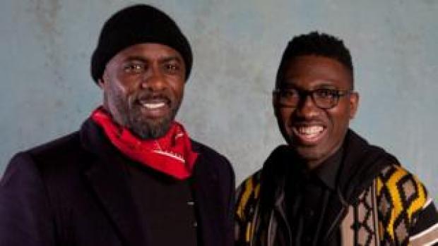 Idris Elba and Kwame Kwei-Armah