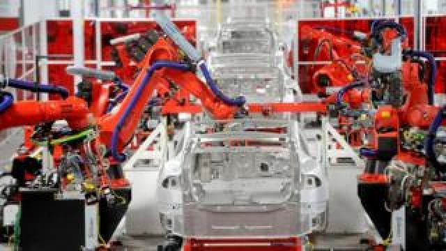 Tesla factory, Freemont California