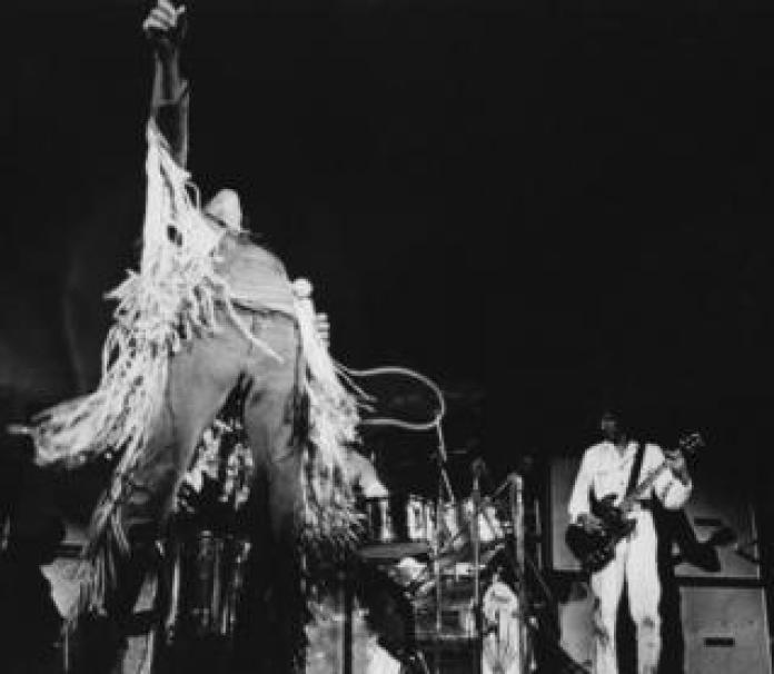 The Who live at Woodstock in 1969