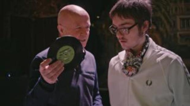 Anthony with Richard Searling