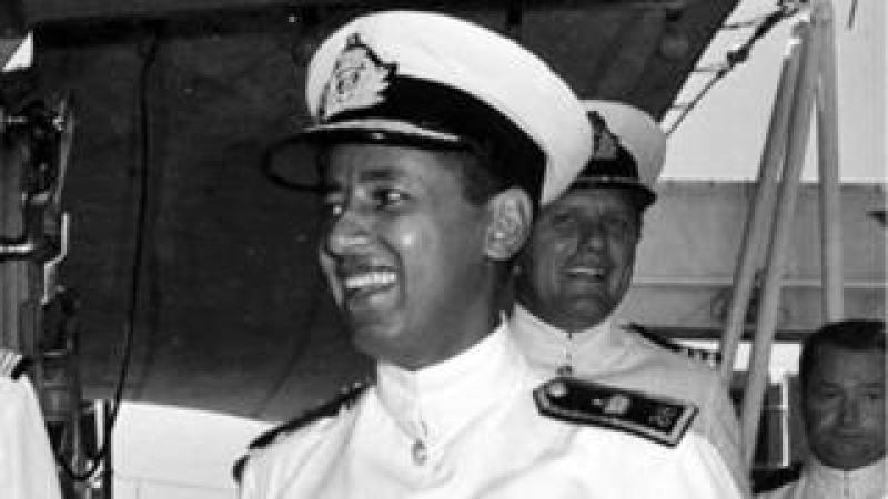 H H Commodore Prince Alexander Desta, Deputy Commander of the Imperial Ethiopian Navy, 1971
