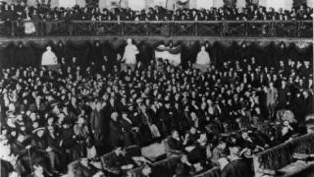 The opening of the first Dáil Éireann