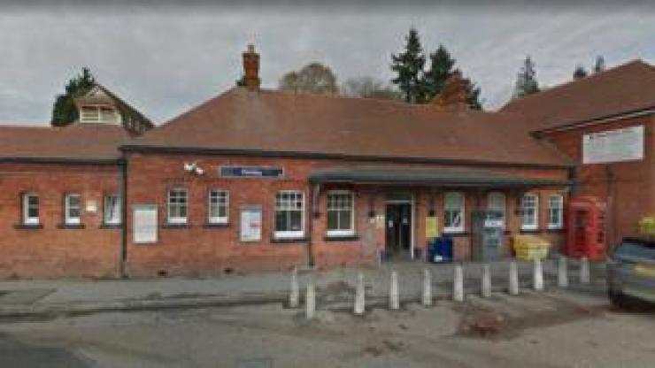 Horsley railway station
