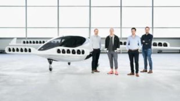 The Lilium self flying air taxi