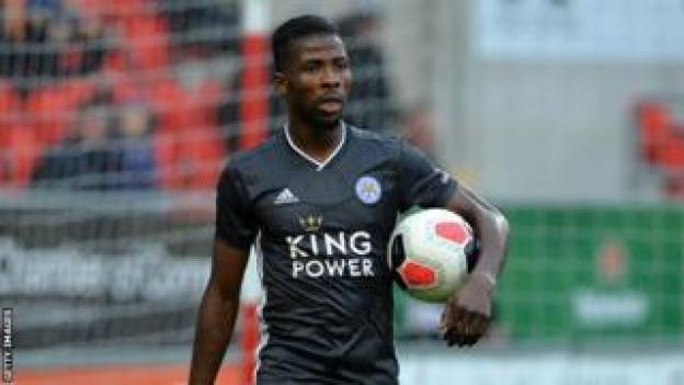 Kelechi Iheanacho du Nigeria et Leicester City