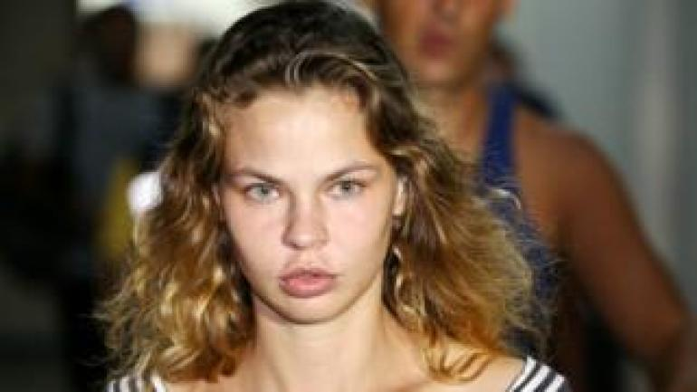 Anastasia Vashukevich im thailändischen Gefängnis, 15. Januar 19