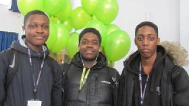 Menelik, Clyde and Tyrone