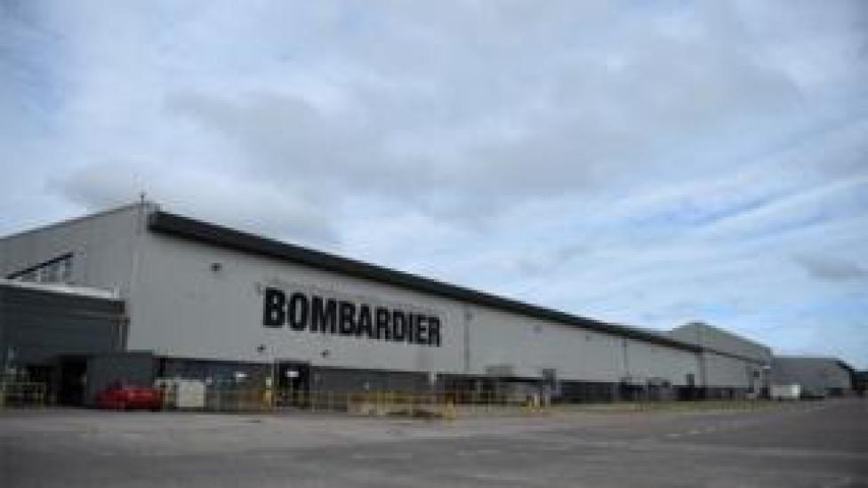 Bombardier Aerospace factory in Belfast