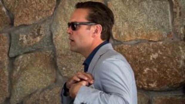 James Murdoch, chief executive officer of 21st Century Fox, attends the annual Allen & Company Sun Valley Conference, July 5, 2016 in Sun Valley, Idaho.