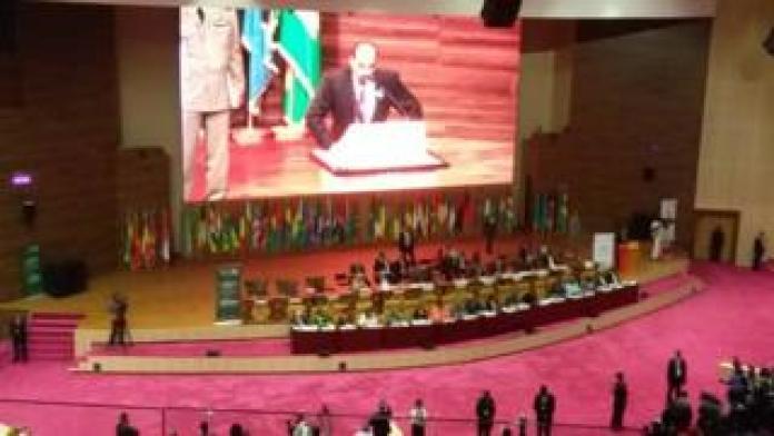 Le discours d'ouverture du Président Abdel Aziz de Mauritanie.