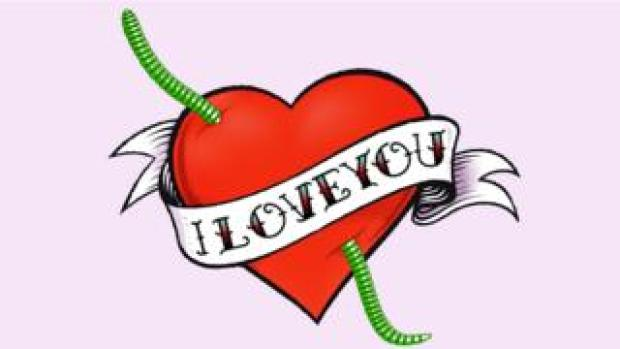 Love You graphic