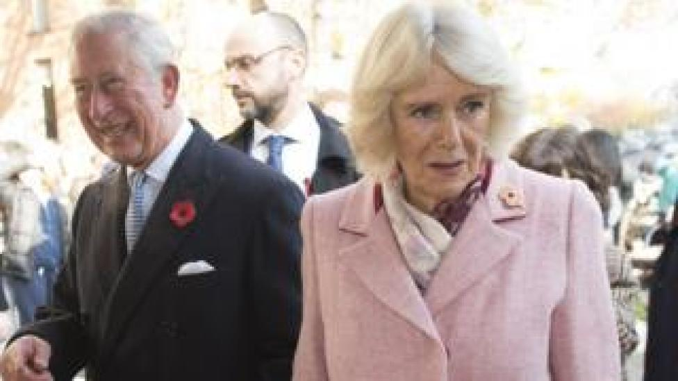 Duchess of Cornwall with Prince Charles