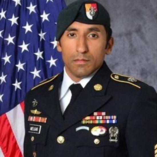 Army Staff Sergeant Logan J Melgar