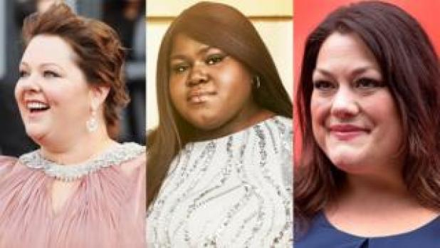 L to R: Melissa McCarthy, Gabourey Sidibe and Brooke Elliott