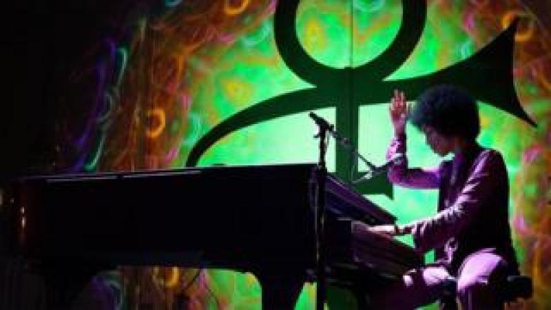 Prince at the piano