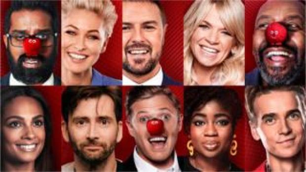 Comic Relief 2019 presenters