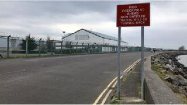 Kinnegar Logistics Base