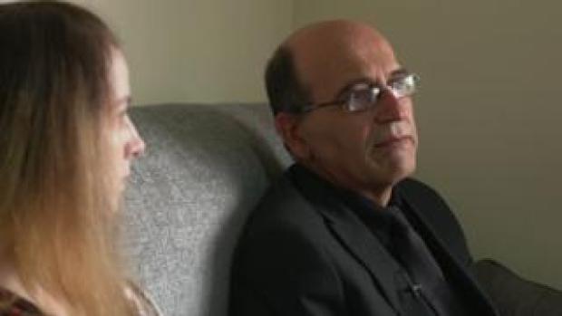 Yousef Makki's sister, Jade, and father
