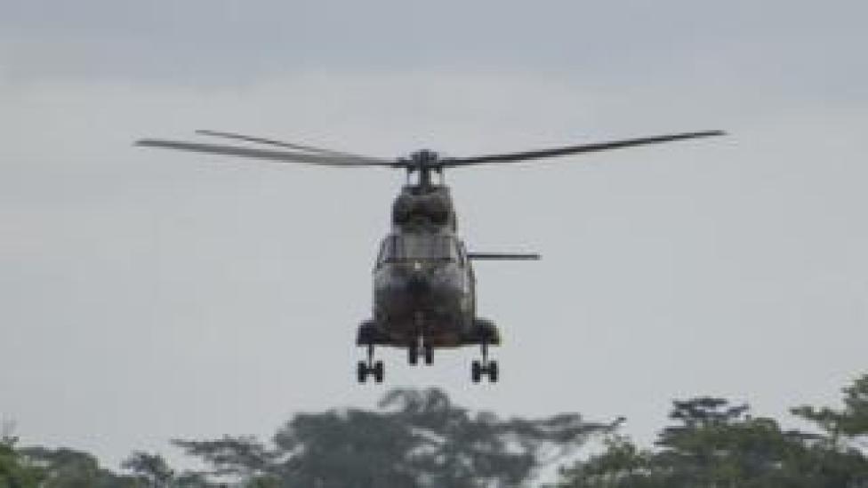 Crash d'un hélicoptère de l'armée camerounaise