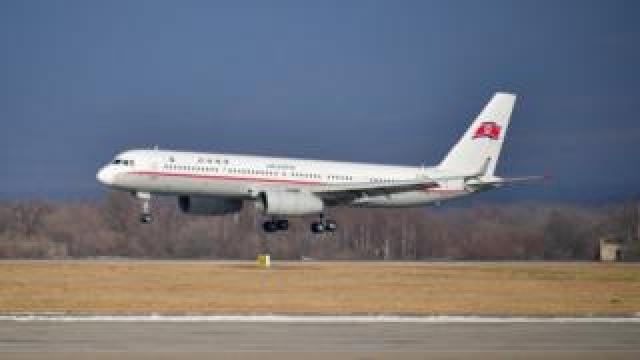 A plane belonging to Air Koryo, North Korea's national airline