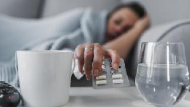 Women taking antidepressants