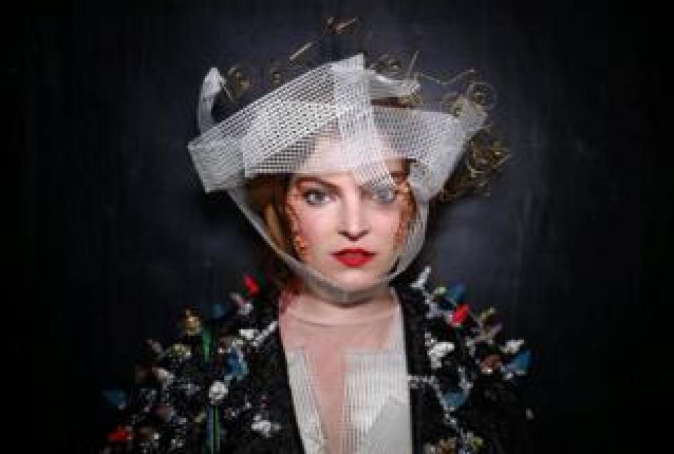 Sophie Cochevelou poses for a portrait